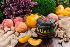 Табак для кальяна Nual Cardinal Peach (Кардинал Персик) 100 г в полиэтиленовом пакете, фото 1, цена
