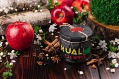 Табак для кальяна Nual Fuji Apple (Яблоко Фуджи) 100 г в полиэтиленовом пакете, фото 1, цена