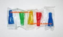 Мундштуки для кальяну одноразові зовнішні кольорові, фото 1, ціна