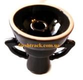 Чаша для кальяна керамическая наружная Фаннел с двумя ручками, фото 1, цена