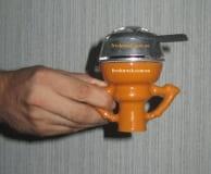 Чаша для кальяна керамическая наружная Фаннел с двумя ручками, фото  2, цена