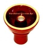 Чаша для кальяна керамическая наружная Фаннел Phunnel с эмалью внутри, фото 1, цена