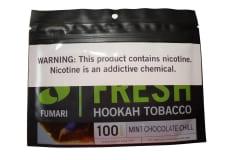Тютюн для кальяну Fumari 100 г Mint Chocolate Chill (М'ятно-шоколадна Прохолода), фото 1, ціна