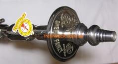Кальян Sherif Fawzy Double Kamanja Silver, фото  2, ціна