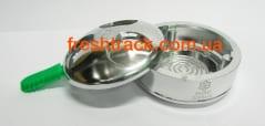 Пристрій для контролю жару Euro Shisha Lotus збільшений, фото  2, ціна