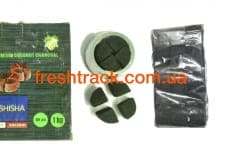 Уголь для кальяна кокосовый Euro Shisha Kaloud 1 кг, фото  2, цена