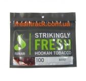 Тютюн для кальяну Fumari 100 г Mint (М'ята), фото 1, ціна